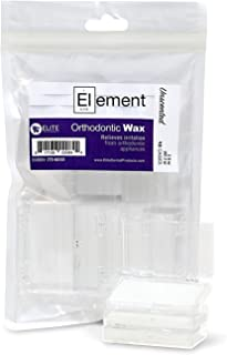 Element Dental Orthodontic Wax 10 Pack-10 Colors/scents Available (White/Unscented)