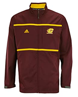 adidas NCAA Men's Central Michigan Chippewas Full Zip Jacket
