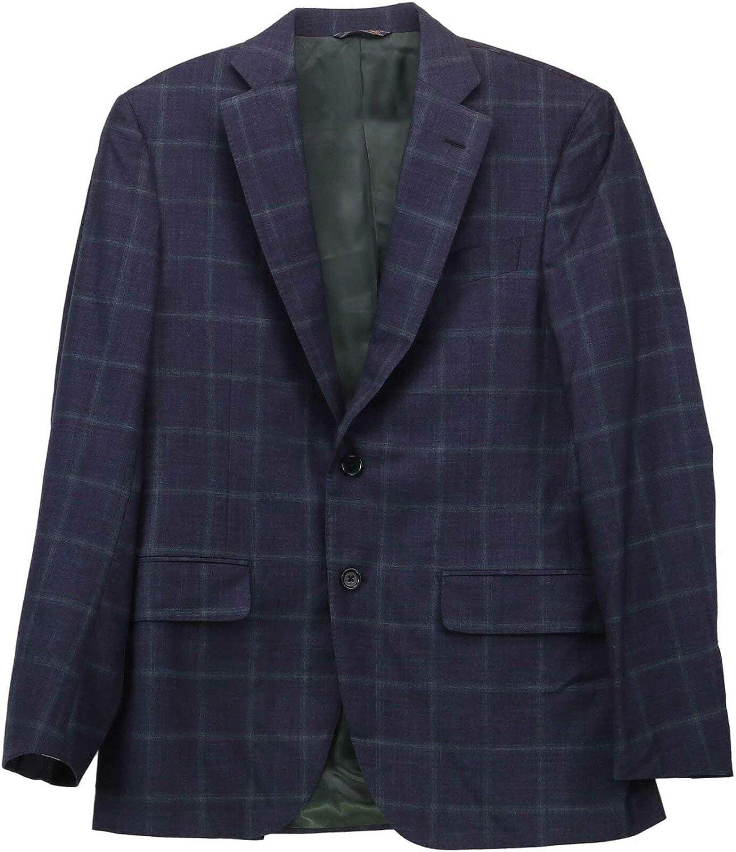 Trussini Men's Windowpane Suit