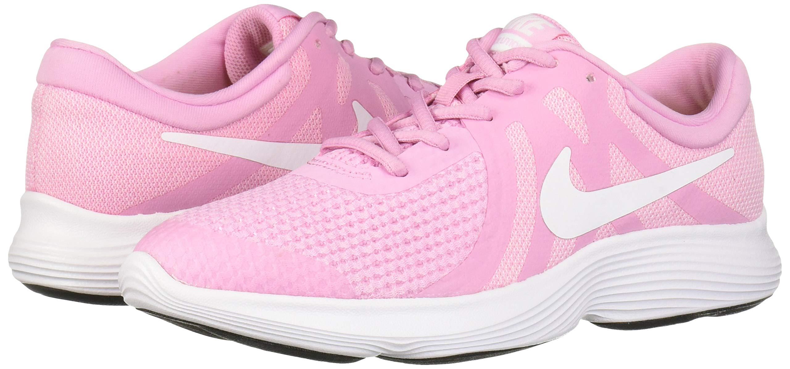 Nike Revolution 4 (GS), Zapatillas para Niñas, Rosa (Pink Rise/White/Pink Foam/Black 603), 38.5 EU: Amazon.es: Deportes y aire libre