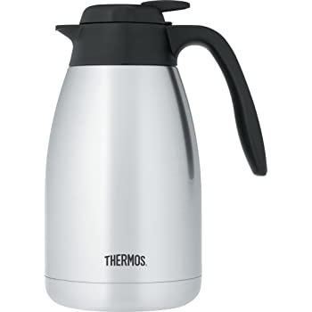 Thermos 51 Ounce Vacuum Insulated Stainless Steel Carafe