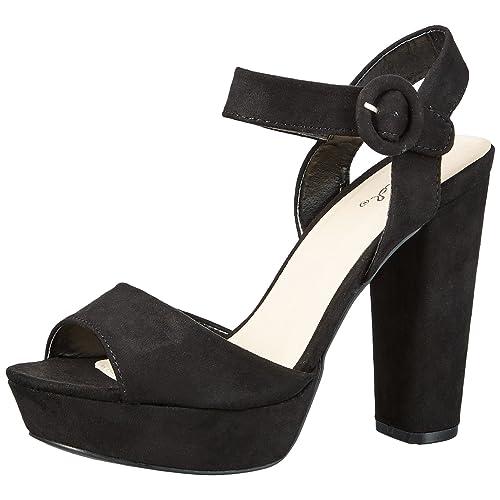 4d6f48ddf92c Qupid Women s ICONIC-01 Heeled Sandal