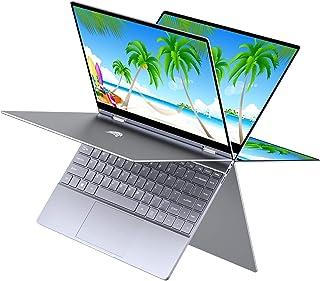 """BMAX Y13 2 en 1 Ordenador portátil, táctil Convertible Notebook de 13.3"""" FHD 1080P Pantalla (Intel Quad Core N4120, 8GB RA..."""