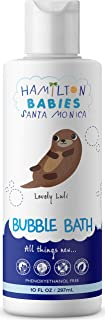 Hamilton Babies Lovely Luli Bubble Bath - Baby Bath - 10 fl oz / 297 mL - Natural Botanical Ingredients, Hypoallergenic, Cleanser, Moisturizer, Dermatologist-Tested, No Sulfates, No Phthalates
