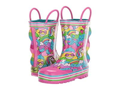 Western Chief Kids 2 Cool Rain Boot (Toddler/Little Kid/Big Kid) (Multi) Girls Shoes