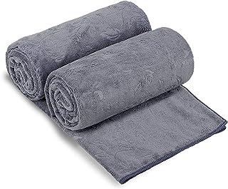 "JML Bath Towels 2 Pack, Oversized Microfiber Bath Towels(30"" x 60""), Soft and Super Absorption Multipurpose Towels for Bat..."