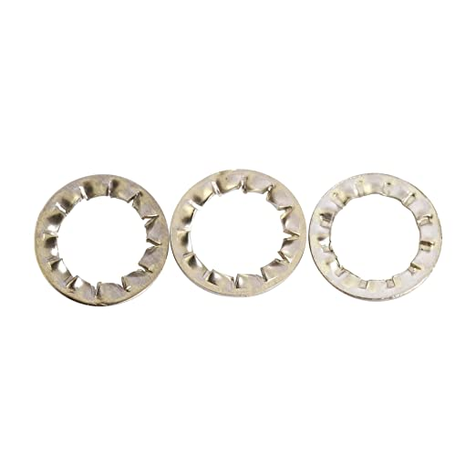 SHAKEPROOF LOCK WASHERS EXTERNAL TOOTHED SERRATED TOOTH A2 STAINLESS STEEL