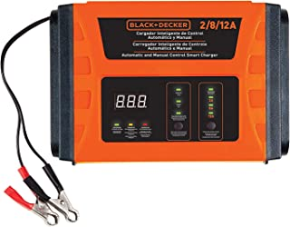 BLACK+DECKER BC12-B2, 2/8/12 Amp 3 Speed Automatic Battery Charger & Manual Control