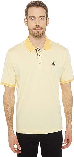 Easton Short Sleeve Knit Polo