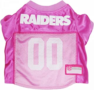 pink raiders jersey