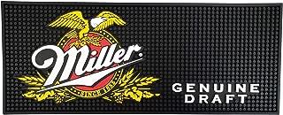Miller Genuine Draft Beer Rectangular Bar Mat Spill Mat Rail Drip Mat - 20.5
