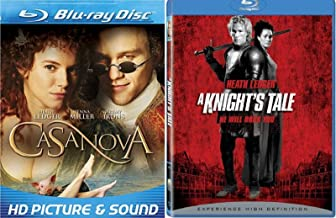 Heath Ledger Double Feature: Casanova / A Knights Tale Blu ray