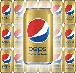 Pepsi Cola, Caffeine-Free, 12 Fl Oz Can (Pack of 18, Total of 216 Oz)