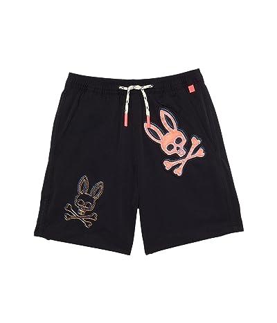 Psycho Bunny Kids Dunwich Swim Trunks (Little Kids/Big Kids)
