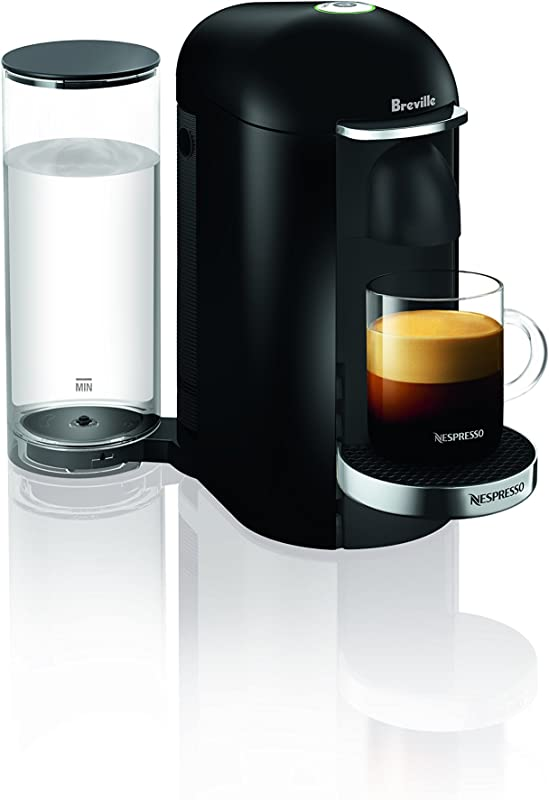 Nespresso VertuoPlus Deluxe Coffee And Espresso Machine By Breville Black