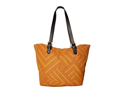 Prana Slouch Tote Medium (Curry Wander) Tote Handbags