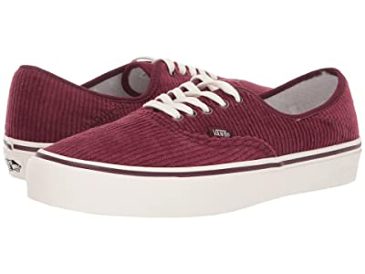 Vans Authentic SF ((Corduroy) Port Royale/Marshmallow) Lace up casual Shoes