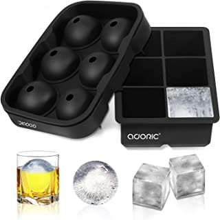 frozen ice balls for drinks
