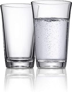 WMF Basic Wasserglas-Set 2 Stück, Trinkgläser 250ml, Glas, spülmaschinengeeignet