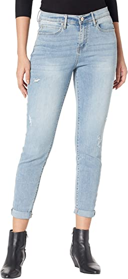 Borough High-Rise Ankle Skinny in Light Blue