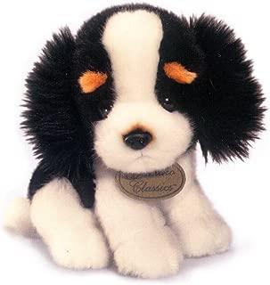 Russ Berrie Yomiko Newborns Black And White Spaniel 8.5 inches