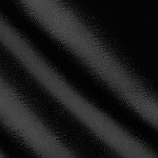 1 X Black Satin Fabric 60