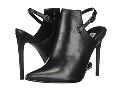 Steve Madden Daily Bootie (Black Leather) Women