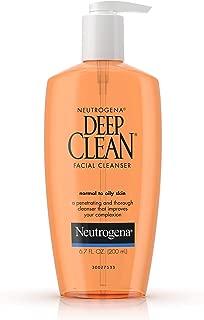 Neutrogena Deep Clean Facial Cleanser 6 7 fl oz 200 ml