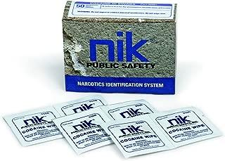 NIK Cocaine ID Swabs, Box of 50