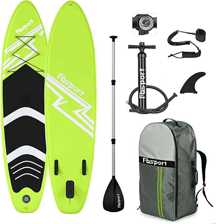 Tavola da sup 300×76×15 cm sup board stand up paddle con accessori fbspor B08545F2MR