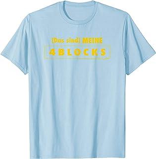 Adult Swim 4BLOCKS Das sind MEINE Gold T-Shirt