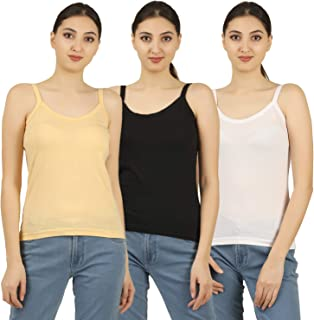 Nestos Womens Cotton Multicolor Camisole