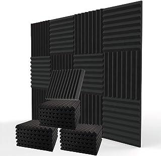 "Sponsored Ad - ROYAL LIFE SHOP 12 Pack Acoustic Foam Panels 12""x12""x2"" - Soundproof Foam, Studio Foam, High Density Firepr..."