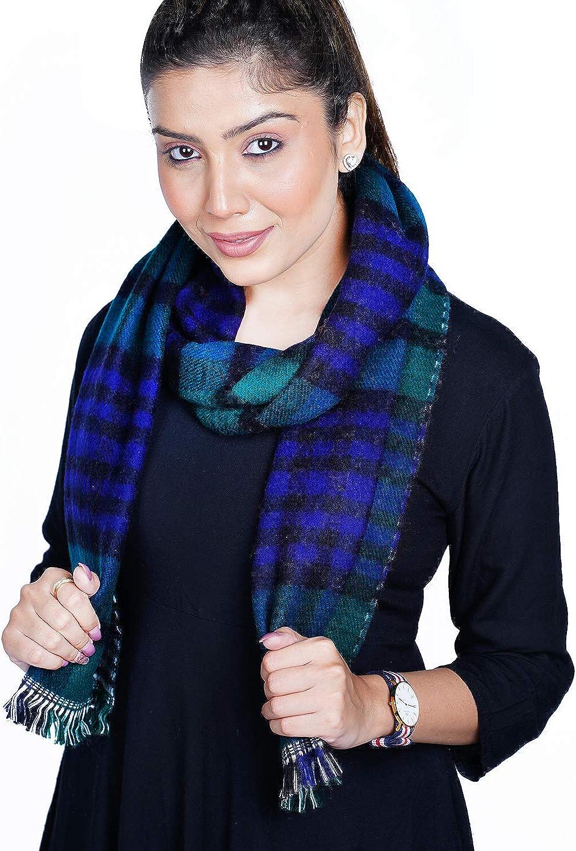 U R Like Woolen Reversible Muffler For High Winters For Men & Women Woolen Check Pattern Mufflers/Scarves/Scarfs - Uraw-4402