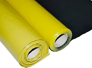 ObeX11 America's Only 6 Mil Vapor/Moisture Barrier Plastic Sheeting with Termite Control (20' W X 100' L)
