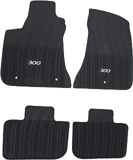 Mopar 82212255AB Black All-Weather Floor Mat RWD Vehicles Only