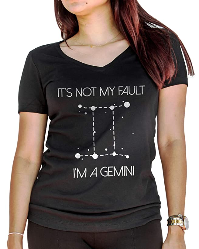 LeRage It's Not My Fault I'm A Gemini Shirt Birthday Horoscope Gift Women's