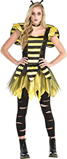 Zom-Bee Halloween Costume for Women, Small, with Included Accessories, by Amscan
