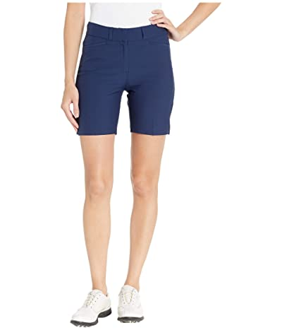 adidas Golf Club 7 Solid Shorts (Night Indigo) Women