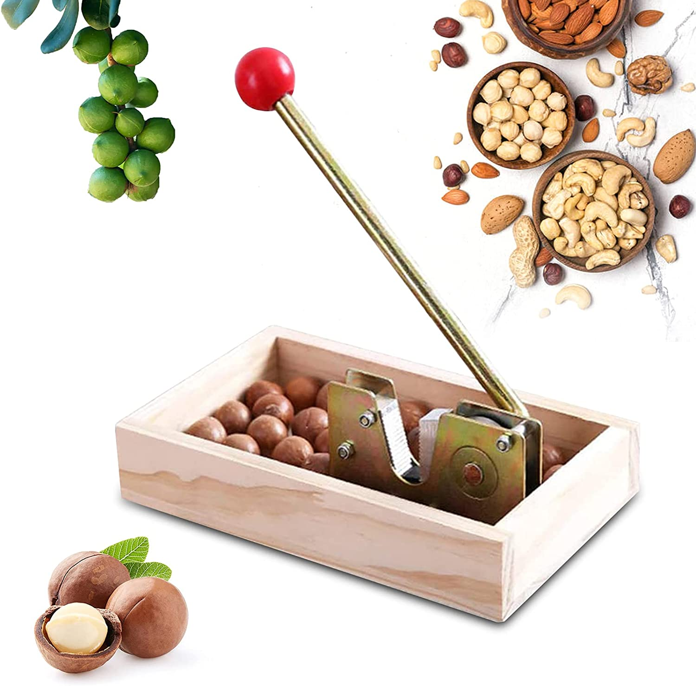 2021 New Nutcracker Nut Tongs,Peeling Machine Kitchen Tools Heavy Duty Pecan Nut Cracker Opener Tool For Walnuts Chestnuts Pecans Hazelnuts Almonds & More Best Service: Home & Kitchen