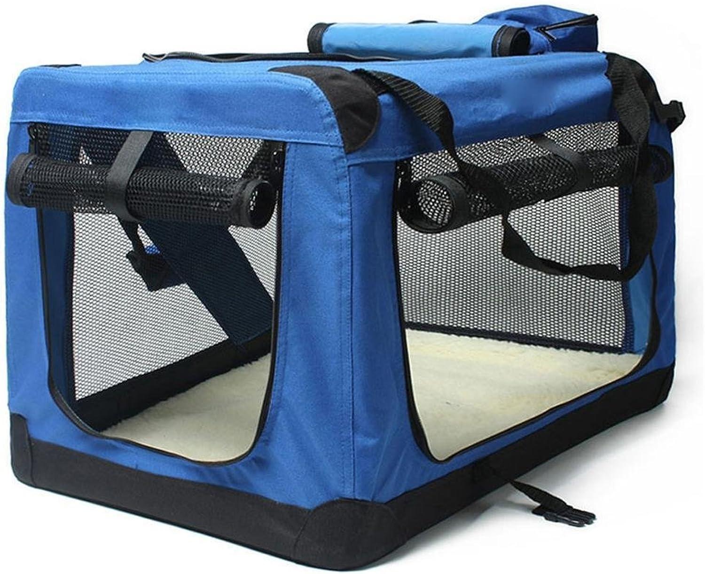 Dixinla Pet Carrier Backpack Tote bag foldable Portable dog bag cat cage 71  53  53cm