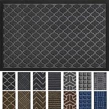 DEXI Outdoor Door Mat, 59x35 Large Durable Rubber Doormat for Indoor Outdoor, Heavy Duty, Waterproof, Low-Profile Front, B...