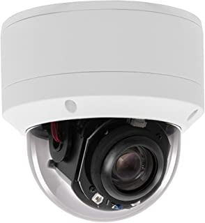 (Hikvision Compatible) Inwerang HD 1080P Outdoor/Indoor POE IP PTZ 2MP Dome Security Camera, 2.7-13.5mm Motorized 5X Zoom,...
