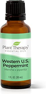 Plant Therapy Peppermint Western U.S. Essential Oil 30 mL (1 oz) 100% Pure, Undiluted, Therapeutic Grade