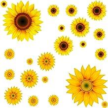 Sun Flower Die Cut Decals Stickers Crafting Nursery Wall Window Decoration Art