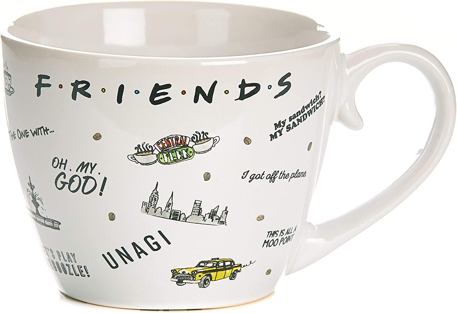 Friends TV Show Sayings Coffee 8 - oz Save Limited Special Price money Mug