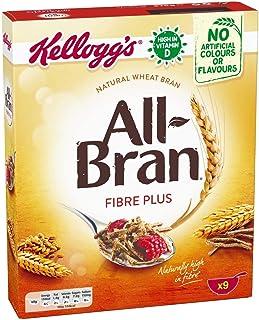 Kellogg's All-Bran Plus Cereal, 375 gm (Brown)