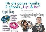 Family Lupi & Bo Kragen Loop und Wende Kapuzenschal mit Taschen. 2 eBooks mit Nähanleitung und Schnittmuster. [Download]
