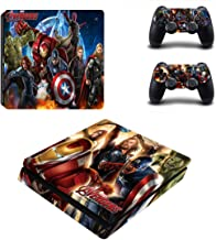 Avengers Age Of Ultron Playstation 4 Slim Vinyl Skin Sticker Decal For Ps4 Slim