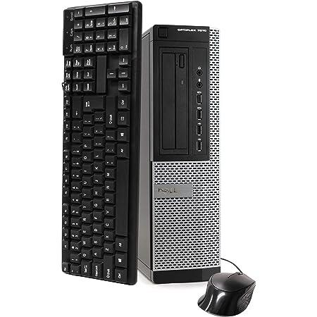 DELL Optiplex 7010 Business Desktop Computer (Intel Quad Core i5-3470 3.2GHz, 16GB RAM, 2TB HDD, USB 3.0, DVDRW, Windows 10 Professional) (Renewed)']